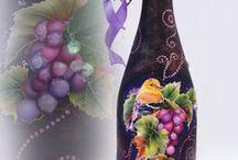 Dekoračné fľaše / dekoračné fľaše.