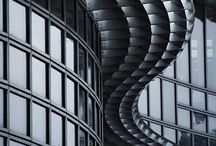 ARCHITECTURE / Constructions of steel, glass and concrete imitating the curves and angles of geometrical nature of mathematics.