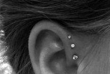Ear cuff & Piercings