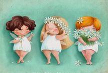 Illustrazioni... / Disegni e illustrazioni semplicemente adorabili...