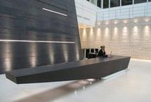 Reception Areas / A beautiful and well designed reception area is essential, because first impressions are the most lasting.