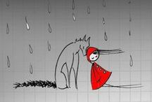 Little Red Riding Hood / Artwork inspired by the famous fairy tale