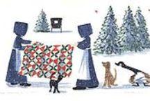 Illustrazioni 2 / Disegni e illustrazioni ispirate al patchwork, quilts, e tricot