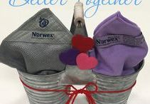 Norwex Gifs / Fun gallery of short clips - with no sound - showcasing our Norwex products, how they can be used, and various fun ideas to help you learn more about them! Click on any of them to be re-directed to their respective Product Information page for specific information.