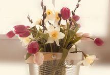 Easter decor - My work / Easter decoration, Easter flower arrangements, Easter cakes, Easter table decoration, Easter eggs