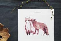Joulukortit - Christmas Cards / Papurinon herkät joulukortit