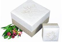 Our Earth-Friendly Urns / This selection of urns is not only friendly to the environment, but are also beautiful ways to remember your loved one.