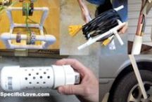 PVC Pipe Projects and Hacks / PVC Pipe Projects, Ideas, Life Hacks, DIY, Homemade, Toys, Weapons