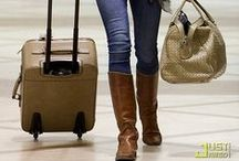Travelista:Tall Boots for Travel / The one shoe that's perfect for cold weather travel. Comfortable and super versatile.