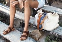 Travelista:Sandals for Travel / Summer travel calls for sandals. Here's some travel worthy looks with adorable sandals.