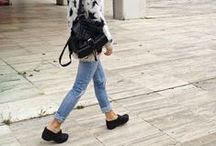 """Comfort Travel Shoes / Fun ways to dress up """"comfort"""" shoes for travel."""