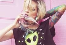 Space Grunge / Space grunge fashion outfits ideas