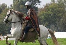 horses and their reneenactors