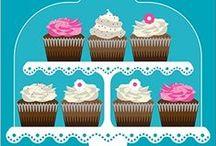 cupcake to draw