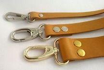 Natural tanned leather straps/ Δερμάτινα λουριά σε φυσικό χρώμα