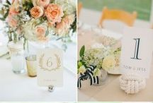 N° de table mariage / Tables numbers