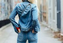 Denim for Travel / different jean styles, chambray and double denim