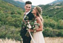 Mariage bohème / Boho wedding / Romantique, fleuri, désinvolte, hors des sentiers battus
