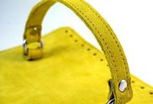 Yellow Suede leather supplies