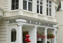 Exteriors of our hotels / Duke of Leinster Brunel Hotel Reem Hotel Kensington Court Hotel / by Crystal Hotels London