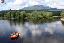 """Katahdin - The Greatest Mountain / The West Branch of the Penobscot River runs right through Maine's famously """"forever wild"""" Baxter State Park, and make no mistake, it is one wild ride."""
