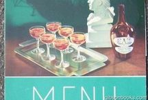 Vintage Menus and Restaurant History / an art form with lasting flavor