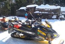 Snowmobiling in the Moosehead Lake Region
