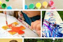 Art Activities for Kids / Creative art activities for kids for school or home.