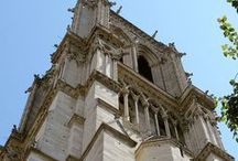 Notre Dame de Paris Cathedral / One of the most famous tourist attractions in Paris to visit is the Notre Dame de Paris Cathedral, being over 850 years old with incredible architecture, statues, flying buttresses, gargoyles, the famous stained glass Rose window and more.