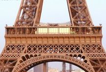 The Eiffel Tower / One of the most iconic and well known monuments is the Eiffel Tower in Paris, with much history and fantastic architecture and more surrounding the structure.