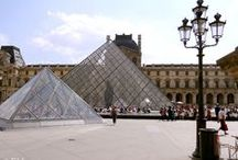 Louvre Museum / One of the most famous museums in Paris is the Louvre museum, known for holding the spectacular Mona Lisa painting as well as having impressive architecture.
