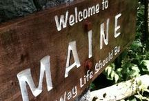 Maine Love / All about Maine!