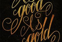 Good as Gold / Gold adds glitter ,a wonderful luxurious color!