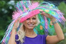 Fashions on Field / Fabulous outfits, Hats, and all the glamour associated with Horse Racing