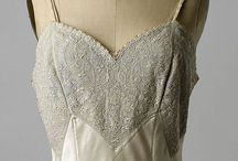 Lingerie: Chemises and Slips / A gorgeous selection of chemises and slips