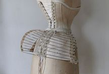 Lingerie: Steel / The very best crinolines, farthingales, panniers and bustle cages from all eras