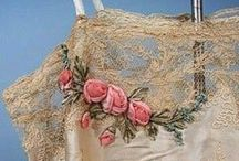 Lingerie: Camisoles and Corset Covers / Stunning collection of camisoles and corset covers