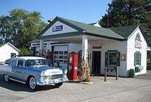 Old Service Stations / Old service stations and other memories / by Ed Blevins
