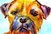Dog Art / Dog art, paintings, prints, drawings etc