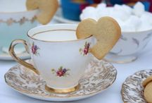 Vintage: Afternoon Tea / Finger sandwiches, cakes and sweet treats; perfect for a vintage inspired afternoon tea.