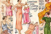 Vintage: Lingerie Advertisements / Glamour and persuasion; vintage lingerie adverts in all their loveliness