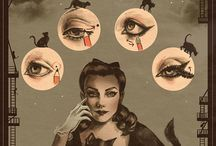 Vintage: Beauty / Hair, make-up and beauty tricks either from or inspired by vintage eras.