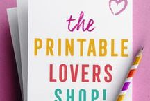 * Printable Lovers Shop * / ♥ PRINTABLE LOVERS: This is the dream space to find beautiful printables on Etsy and other online stores! We're building a community of super passionate printable makers who pour a LOT of love into our printables! We want to help you feel inspired, get organised and uplevel your life!   *  *  *  *  *  *  *  * ☀ PRINTABLE MAKERS: High quality, relevant & from the heart! We're curating the *best* printable marketplace here... To join, message me at aimeetodayprintables or email ciao@aimee.today