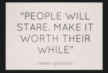 Wise Words / Wise words from fashion icons that inspire us (and probably our shopping habits!)