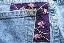 Riparazione jeans e altri tessuti