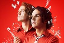 Ylvis / Bard Ylvisaker and Vegard Ylvisaker together make a hilarious Norwegian comedy duo complete with their own talk-show, I kveld med Ylvis......Check it out @bylvisaker @vergardino #ylvis