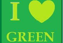 Amo el Verde. / Amo la naturaleza, asi por igual al color verde!! / by Mary Paulino