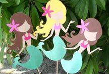 Meerjungfrauen-Party