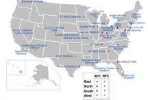NFL Stadiums / Stadiums of the NFL Teams