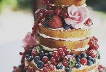 Cake and other food